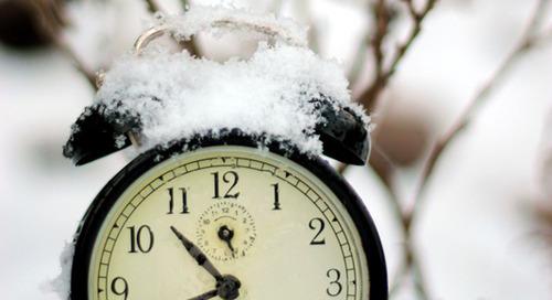 Перевод часов на компьютере на зимнее время